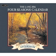 "2016 LANG Four Seasons® 13 3/8""x12"" Wall Calendar (1001911)"