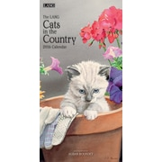 """2016 LANG Cats In The Country 7.75""""x15.5"""" Vertical Wall Calendar (1079115)"""