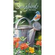 "2016 LANG Songbirds 7.75""x15.5"" Vertical Wall Calendar (1079122)"