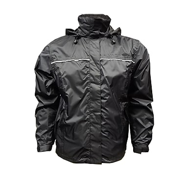 Viking Windigo Mens Jacket, 2XL, Solid Black