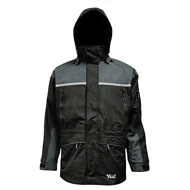 Tempest Trizone 3 in 1 Jacket, 2XL, Black/Charcoal