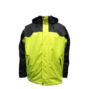 Torrent 3-In-1 Jacket, Large, Charcoal/Lime Green
