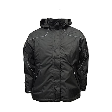 Ladies Creekside Tri-Zone Jacket, 2XL, Black