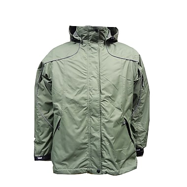 Ladies Creekside Tri-Zone Jacket, 2XL, Martini Green