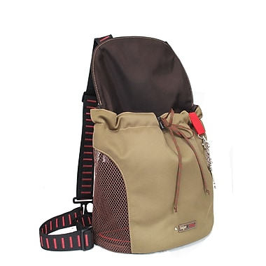 Pet Pouch Carrier, Red Combo
