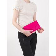 Paperthinks Rubine Red Leather Mini Envelope Bag