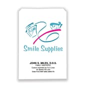 Dental Non-Personalized Paper Bags, Smile Supplies