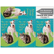 Humorous 3-Up Laser Postcards; Go to the Vet