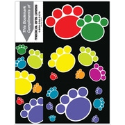 Graphic Image 3-Up Laser Postcards, Paw Prints