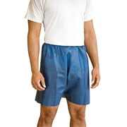 MediShorts Disposable Exam Shorts, Large/Extra-Large, Blue
