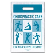 """Medical Arts Press® Chiropractic Non-Personalized 1-Color Supply Bags; 9x13"""", Active Lifestyle"""