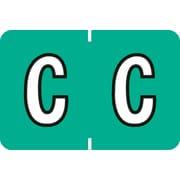 """Medical Arts Press® Colwell Jewel Tone® Compatible Alpha Roll Labels; """"C"""""""