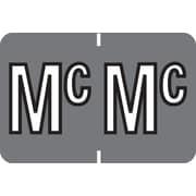 """Medical Arts Press® Colwell Jewel Tone® Compatible Alpha Roll Labels; """"Mc"""""""