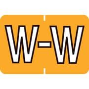 Medical Arts Press® Colwell® Jewel Tone® Compatible Alpha Roll Labels; W