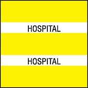 Medical Arts Press® Large Chart Divider Tabs; Hospital, Yellow