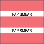 Medical Arts Press® Large Chart Divider Tabs; Pap Smear, Dk. Pink