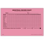 Medical Arts Press Menstrual Record Chart
