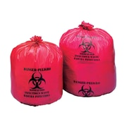 Infectious Waste Bags, 16 Gallon, 100/Carton
