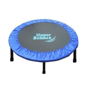 Upper Bounce Two-Way Foldable Rebounder 40'' Trampoline with Carry-on Bag