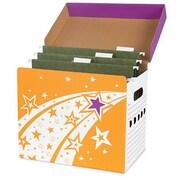 Trend Enterprises File N Save System File Folder Box