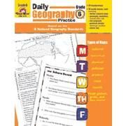 Evan-Moor Daily Geography Practice Grade 6 Book