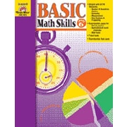 Evan-Moor Basic Math Skills Grade 6 Book