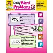 Evan-Moor Daily Word Problems Grade 1 Book