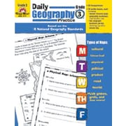 Evan-Moor Daily Geography Practice Grade 3 Book