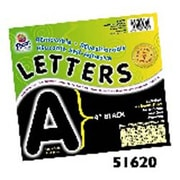 Pacon Creative Products Self Adh Letters and Numbers