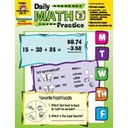Evan-Moor Daily Math Practice Grade 3 Book