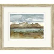 Surya Plein Air Landscape I by Vision Studio Framed Graphic Art