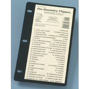 Christopher Lee Publications Pre-geometry Flip Up Study Guide Chart