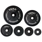 York Barbell Legacy 2'' Olympic Weight Plate; 10 lbs