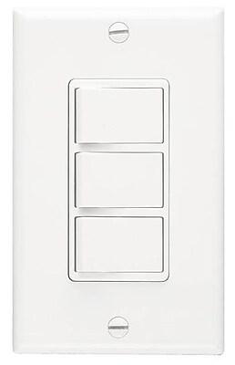 Broan 3-Function Fan Control Switch WYF078277762196