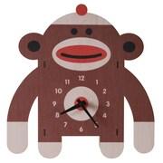 Modern Moose Sockmonkey Wall Clock