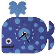 Modern Moose Whale Wall Clock