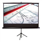 Vutec Matte Black 100'' diagonal Portable Projection Screen