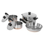Revere Cookware 1400 Line Stainless Steel 7 Piece Cookware Set