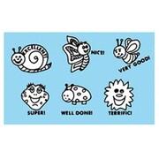 Center Enterprises Inc Grading Stamps Happy Bugs  (Set of 6)