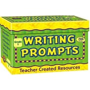 Teacher Created Resources Writing Prompts Gr 1 Flash Cards