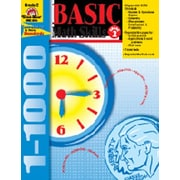 Evan-Moor Basic Math Skills Grade 2 Book