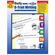 Evan-Moor Daily 6 Trait Writing Grade 4 Book