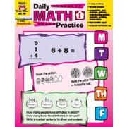 Evan-Moor Daily Math Practice Grade 1 Book