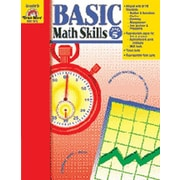 Evan-Moor Basic Math Skills Grade 5 Book