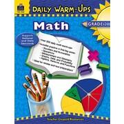 Teacher Created Resources Daily Warm-Ups Math Grade 2 Book
