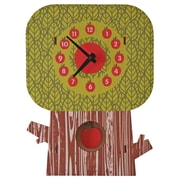 Modern Moose Apple Tree Pendulum Wall Clock