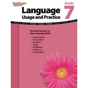 Houghton Mifflin Harcourt Language Usage and Practice Grade 7 Book