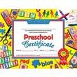 Hayes School Publishing Preschool Certificate 30pk Yellow