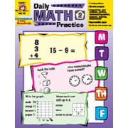 Evan-Moor Daily Math Practice Grade 2 Book
