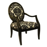 Royal Manufacturing Fabric Arm Chair